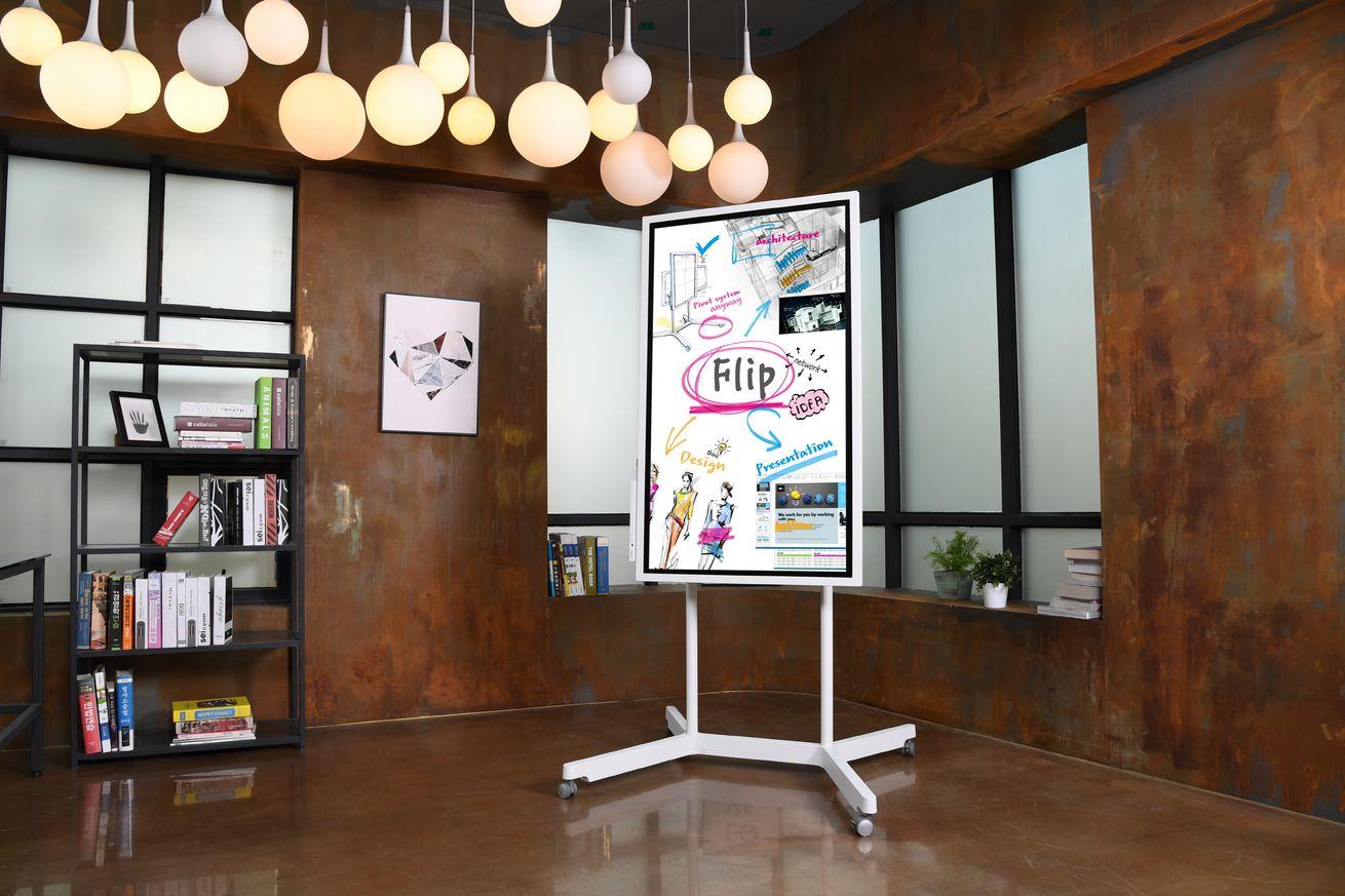 Samsung has created a giant digital whiteboard