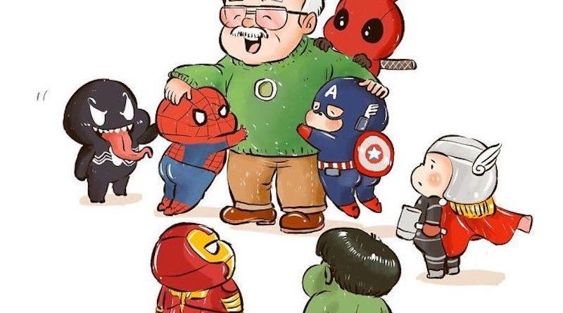 """30 illustrations qui rendent un dernier hommage à Stan Lee : le """"père"""" des super-héros Marvel"""