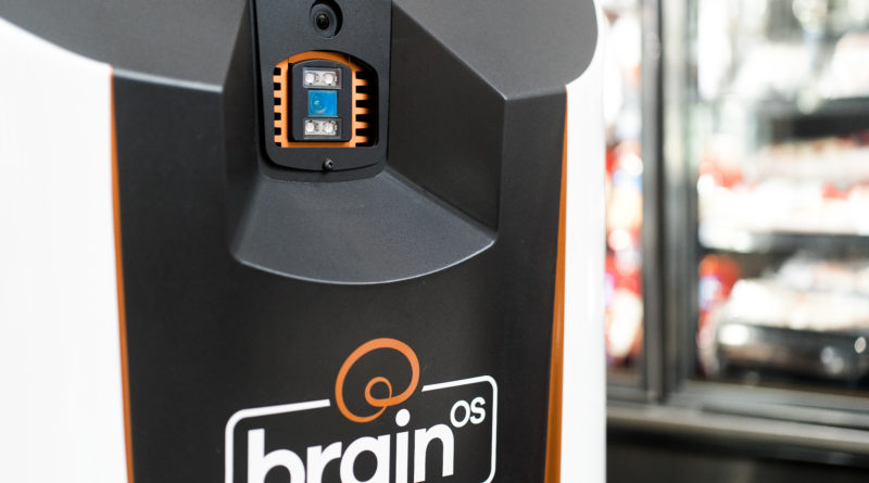 Brain Corp. debuts an autonomous delivery robot for factories and retail