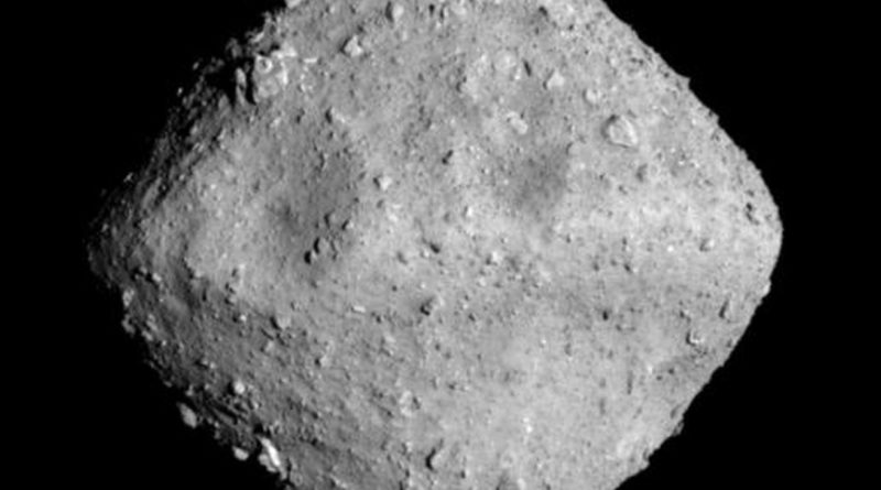 A Japanese spacecraft just blasted a new crater into an asteroid