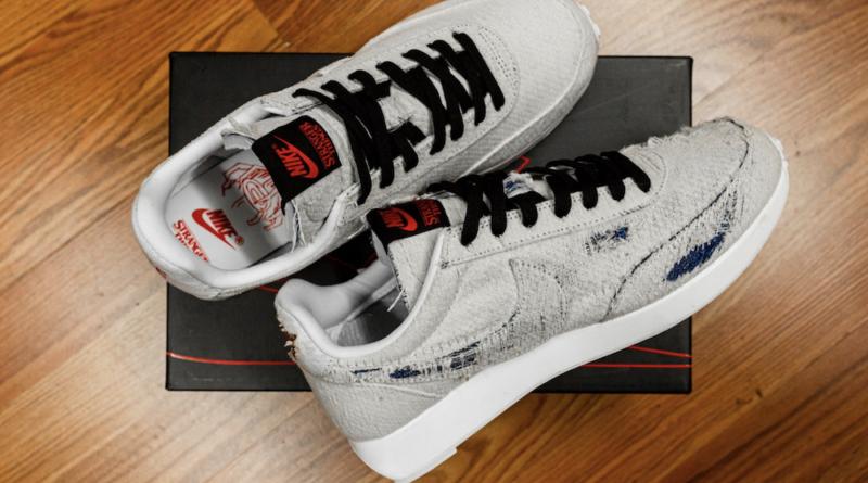 Nike dévoile des sneakers qui se brûlent pour révéler le logo de la série Stranger Things