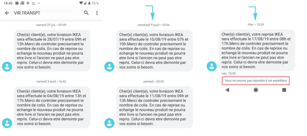 IKEA SMS