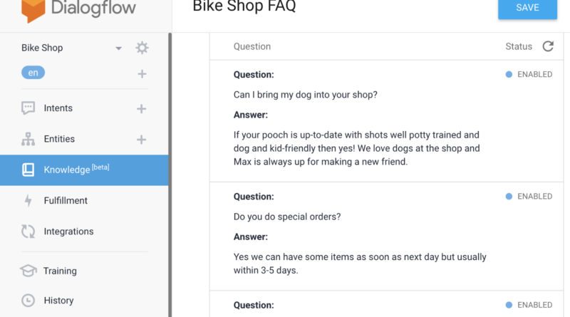 New Dialogflow features: how to use them to expand your Actions' customer support capabilities