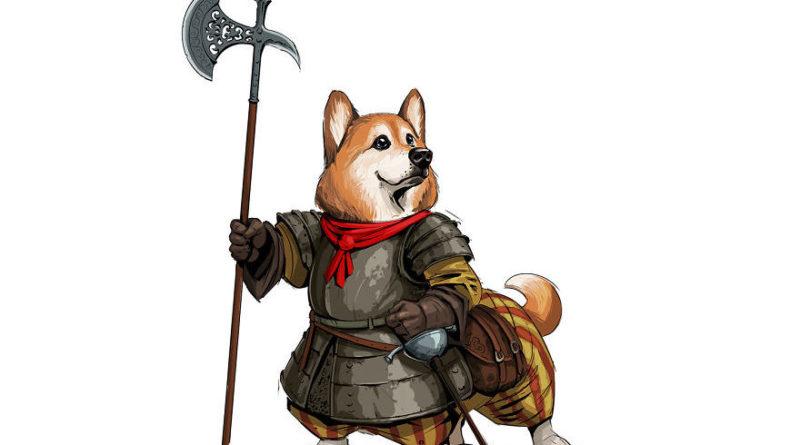 """Il transforme les différentes races de chiens en personnages """"médiéval-fantastique"""""""