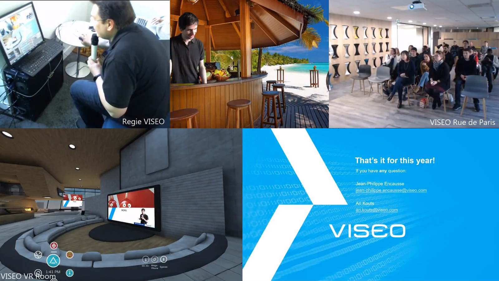 Making of VISEO Live Stream CES2019