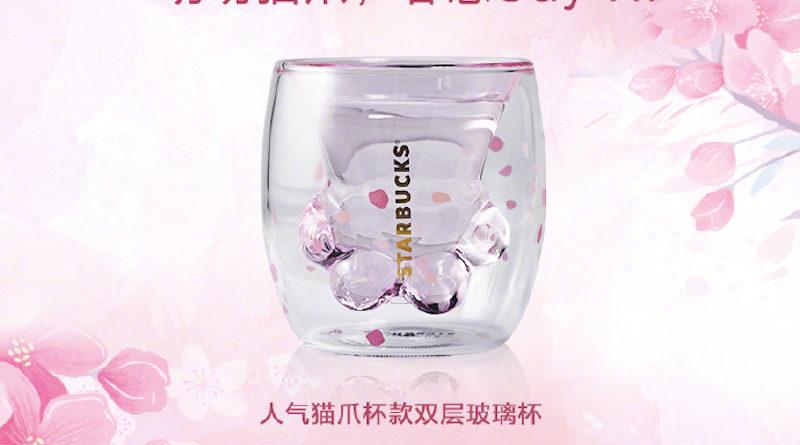 En Chine, Starbucks a lancé une tasse à café insolite en forme de patte de chat