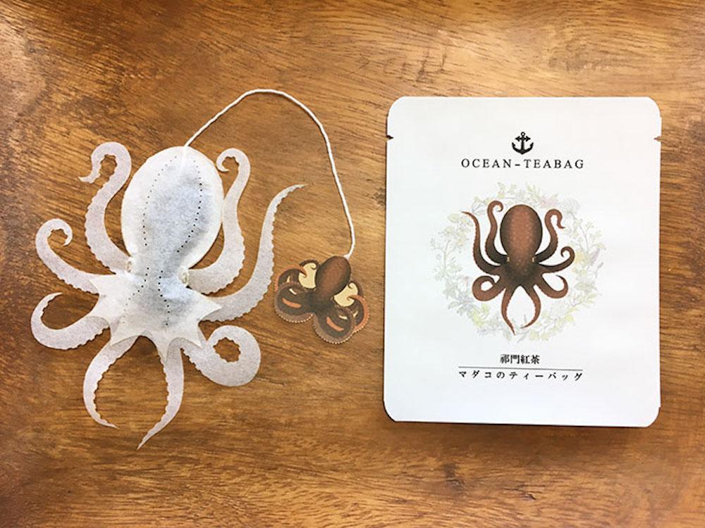Au Japon, ces sachets de thé en forme d'animaux marins prennent vie dans votre tasse