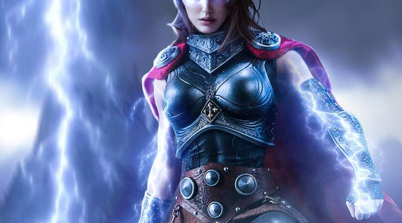 Artist Portrays Natalie Portman as The Mighty Thor