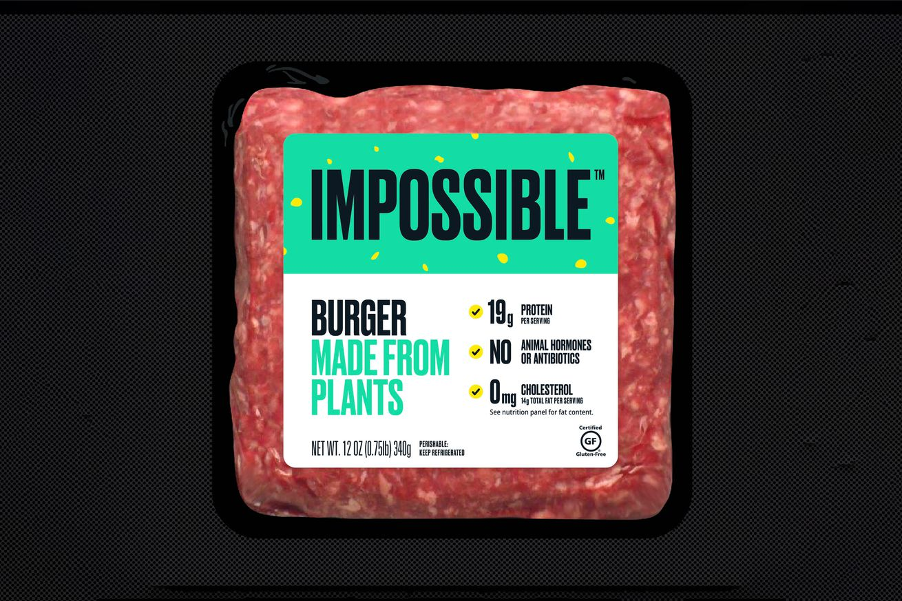 Impossible Burgers are hitting their first grocery stores tomorrow
