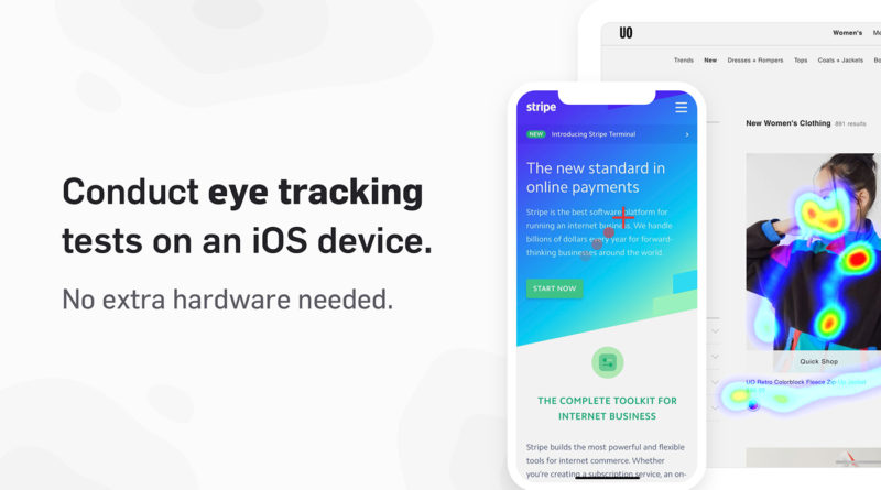 Une application de eye tracking gratuite sur l'App Store