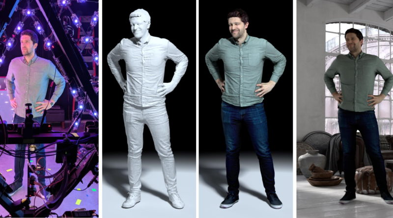 This room-sized LED egg captures amazing 3D models of the people inside it